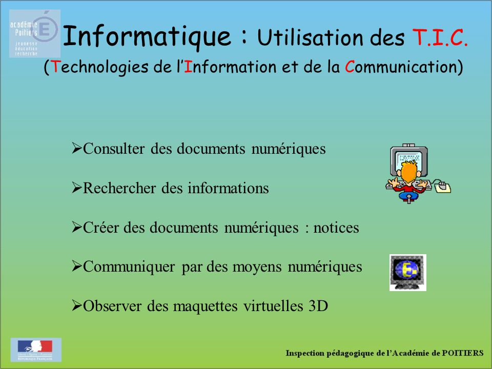 (Technologies de l'Information et de la Communication)