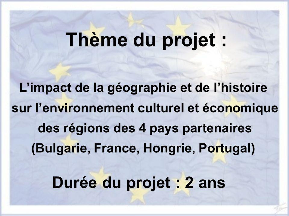 Thème du projet : Durée du projet : 2 ans