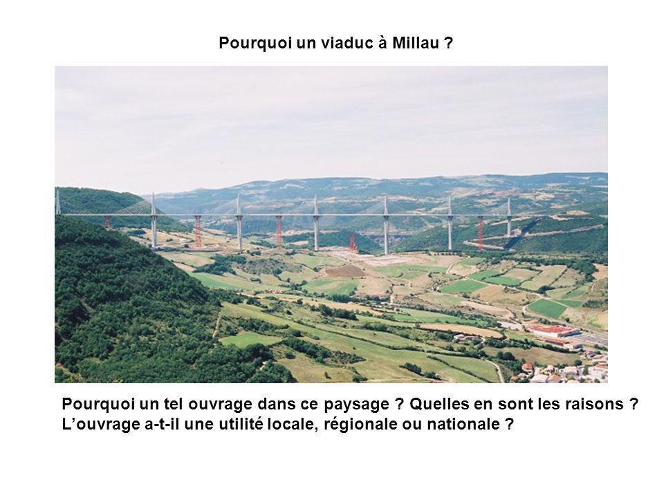 Pourquoi un viaduc à Millau