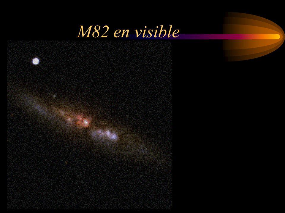 M82 en visible