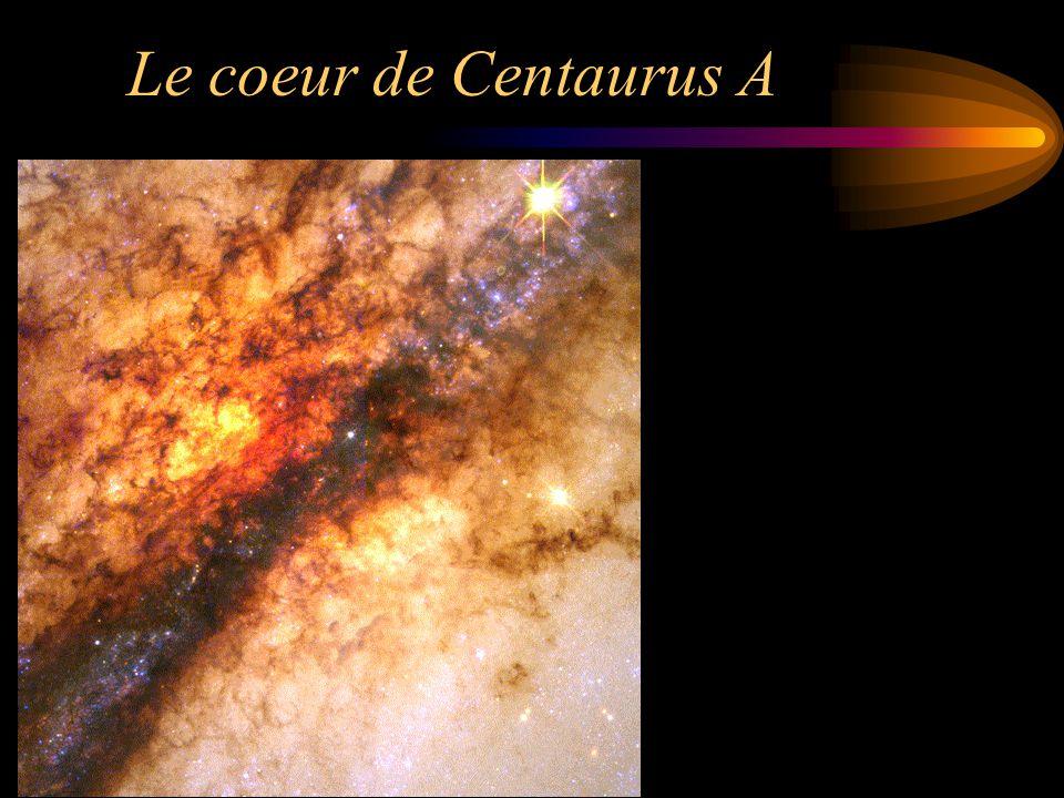 Le coeur de Centaurus A