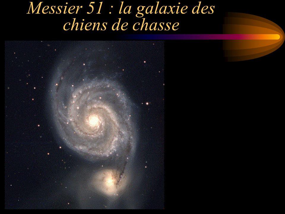 Messier 51 : la galaxie des chiens de chasse