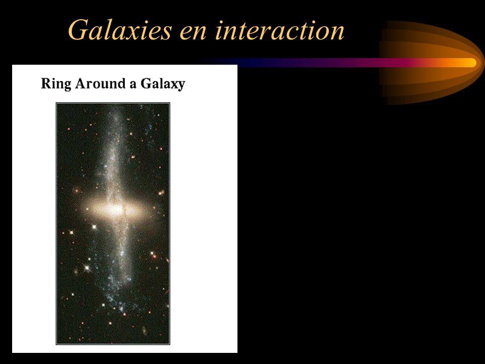 Galaxies en interaction
