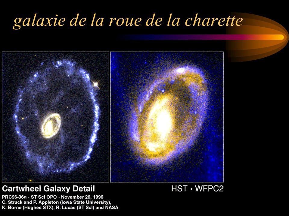 galaxie de la roue de la charette