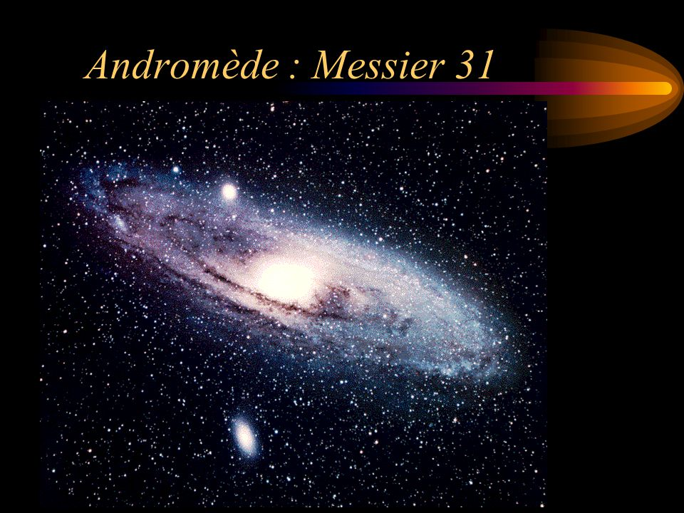 Andromède : Messier 31