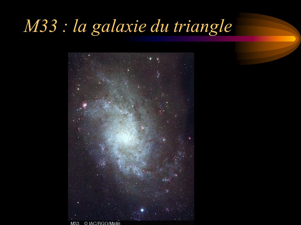 M33 : la galaxie du triangle