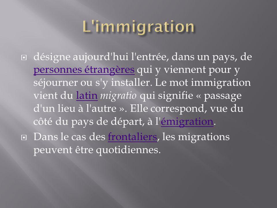 L immigration