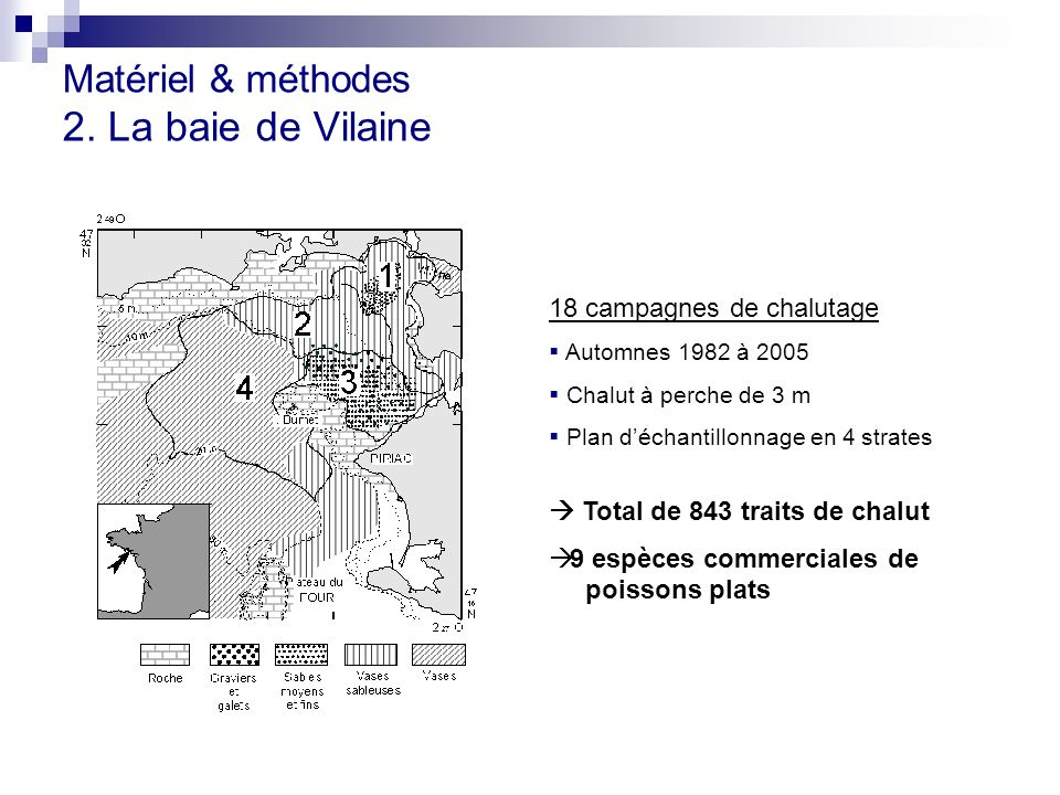 Matériel & méthodes 2. La baie de Vilaine