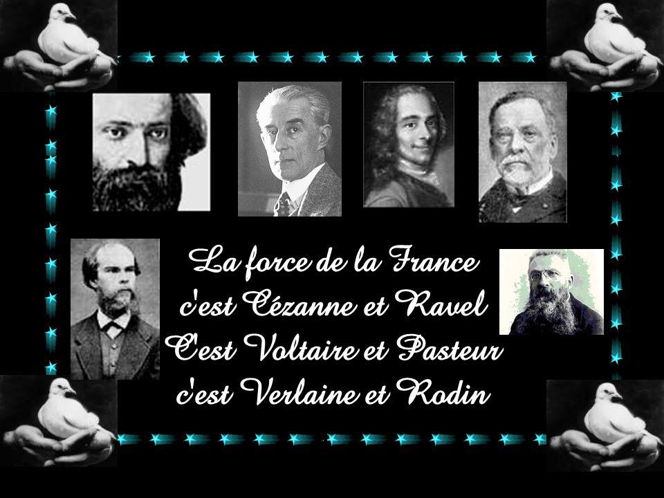 c est Cézanne et Ravel C est Voltaire et Pasteur