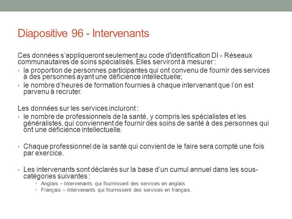 Diapositive 96 - Intervenants