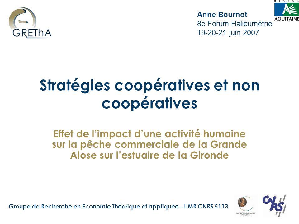Stratégies coopératives et non coopératives