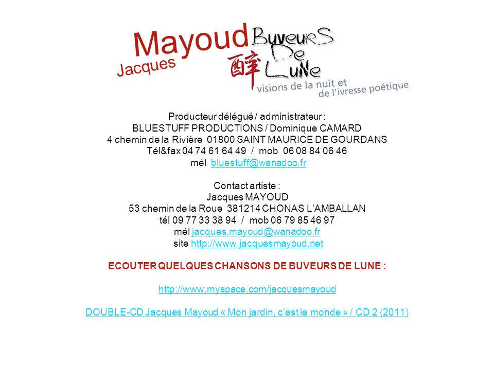 Mayoud Jacques.