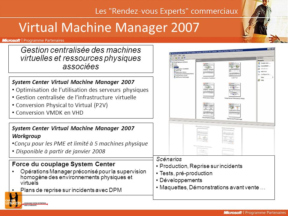 Virtual Machine Manager 2007