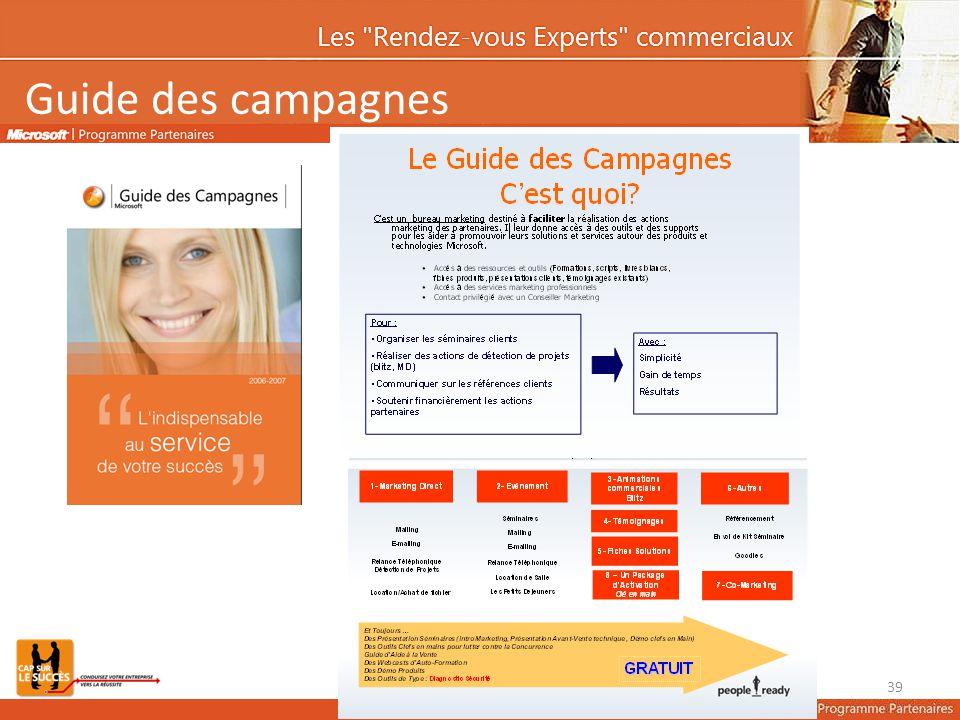 Guide des campagnes