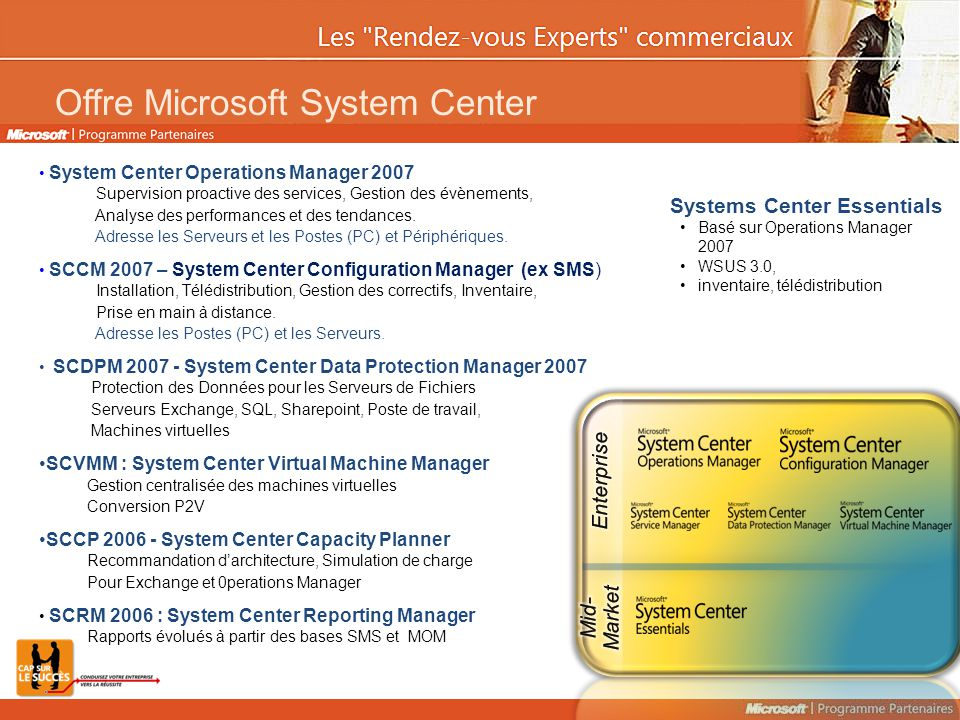 Offre Microsoft System Center
