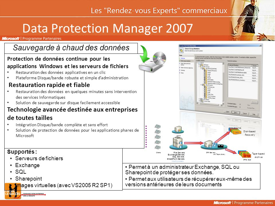 Data Protection Manager 2007