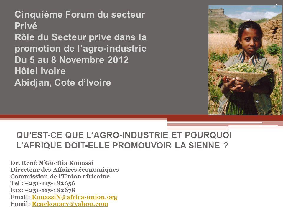 Cinquième Forum du secteur Privé