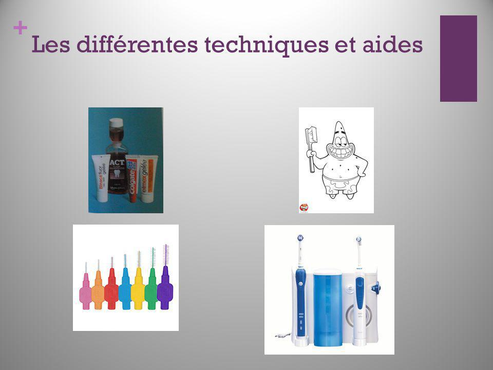 Les différentes techniques et aides