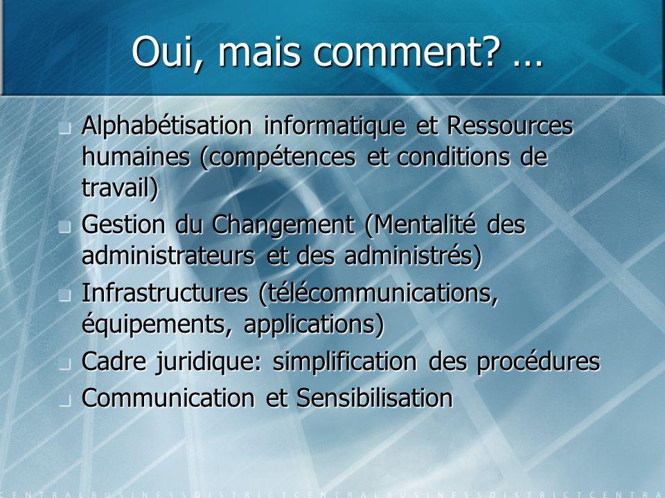 Oui, mais comment … Alphabétisation informatique et Ressources humaines (compétences et conditions de travail)