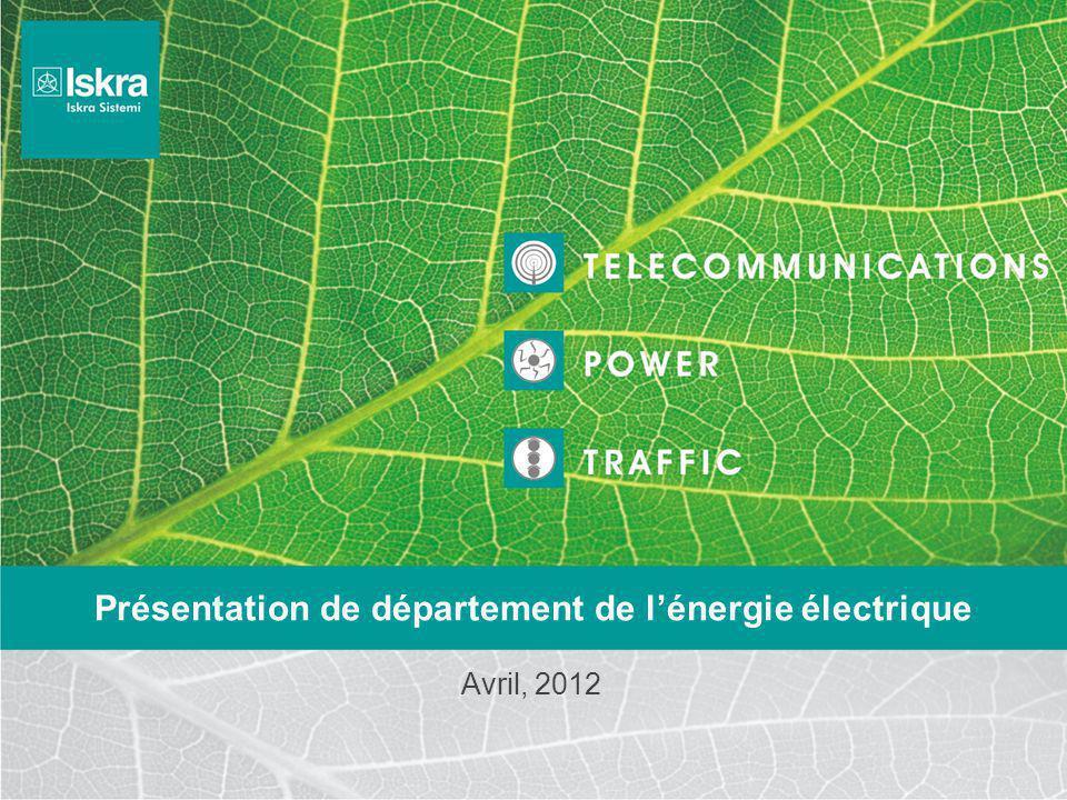 Présentation de département de l'énergie électrique
