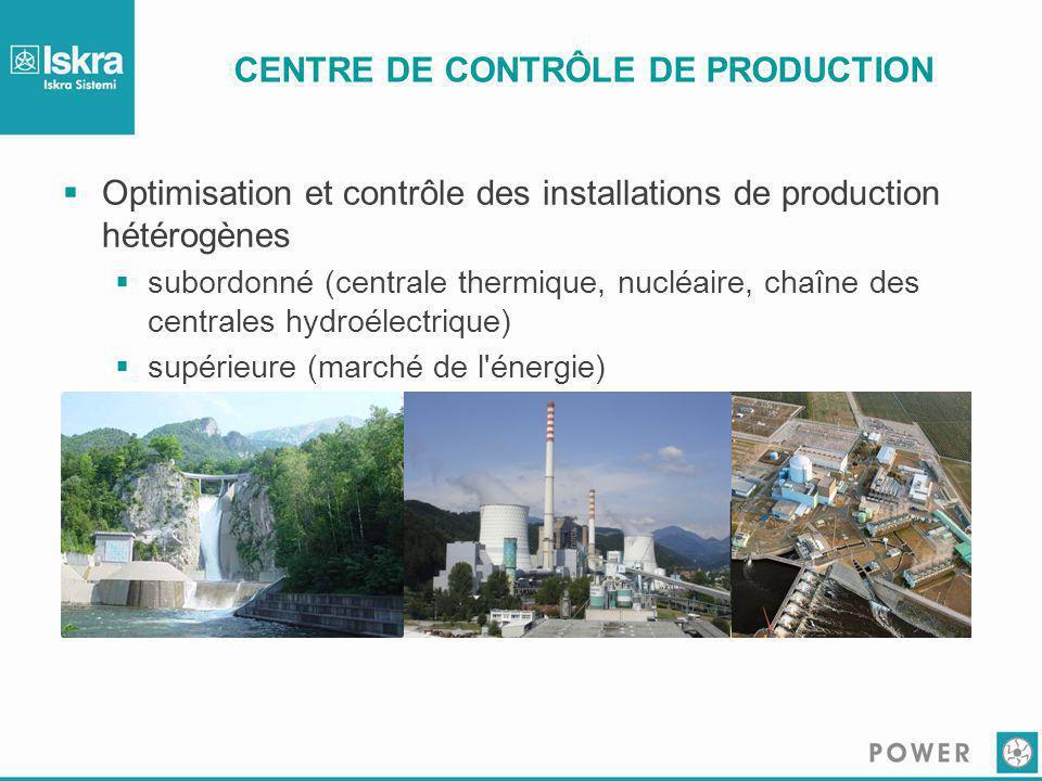 CENTRE DE CONTRÔLE DE PRODUCTION