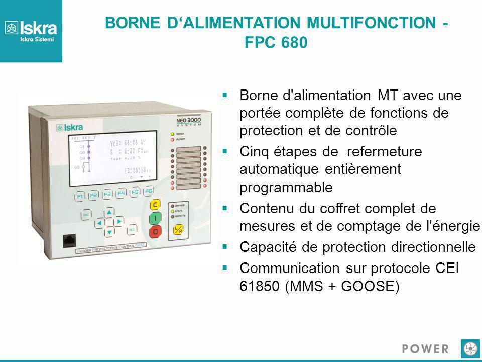 BORNE D'ALIMENTATION MULTIFONCTION - FPC 680