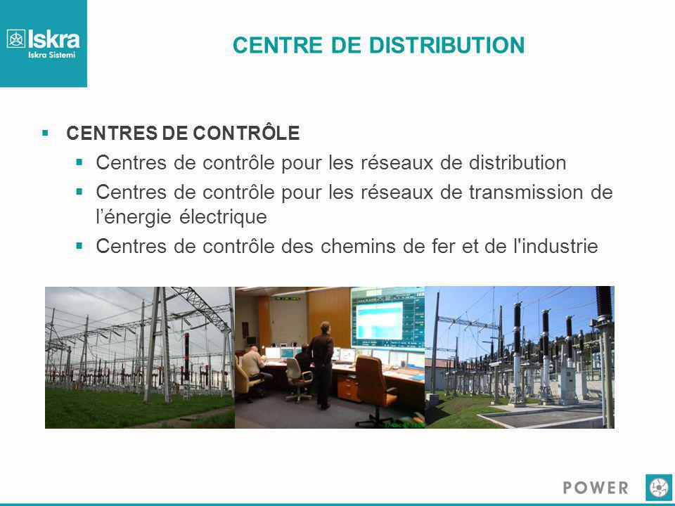 CENTRE DE DISTRIBUTION