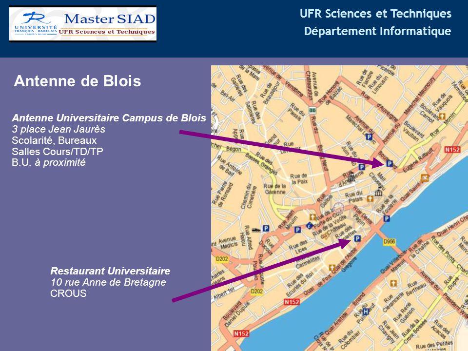 Antenne de Blois Antenne Universitaire Campus de Blois