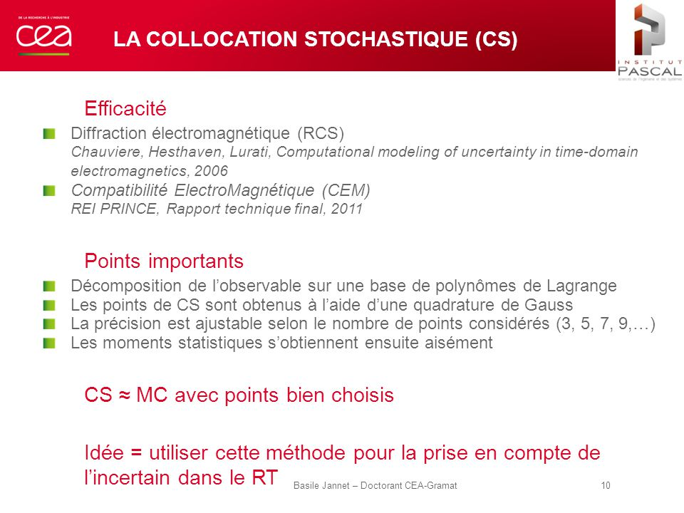 La Collocation Stochastique (CS)