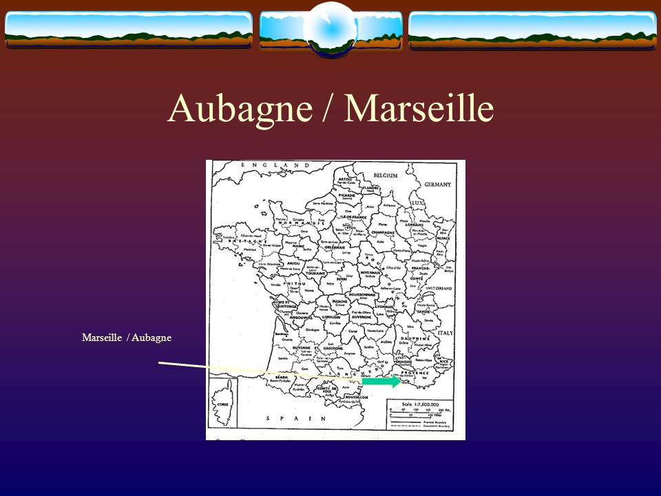 Aubagne / Marseille Marseille / Aubagne