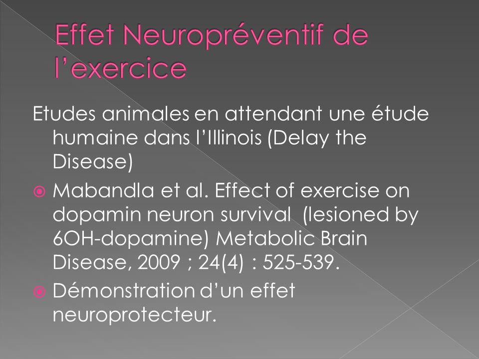 Effet Neuropréventif de l'exercice