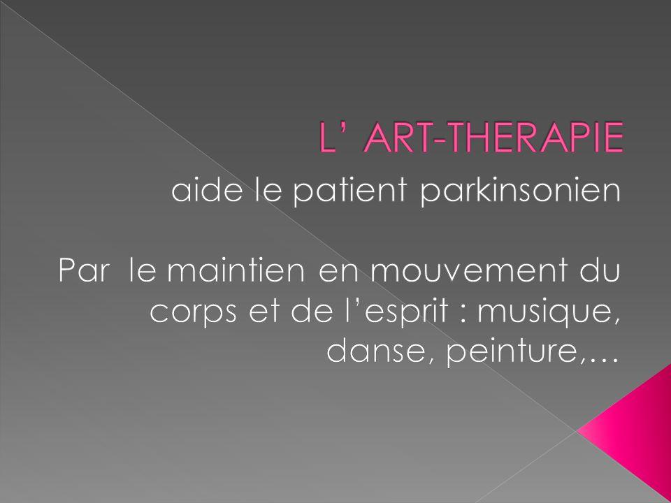L' ART-THERAPIE aide le patient parkinsonien