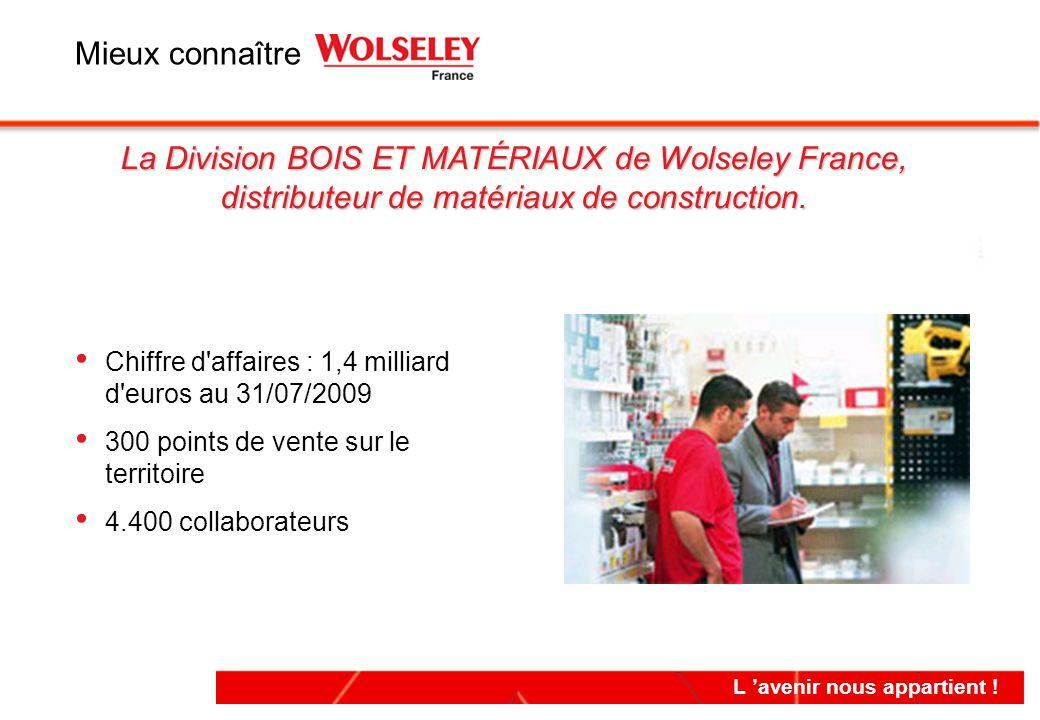 Mieux connaître La Division BOIS ET MATÉRIAUX de Wolseley France, distributeur de matériaux de construction.