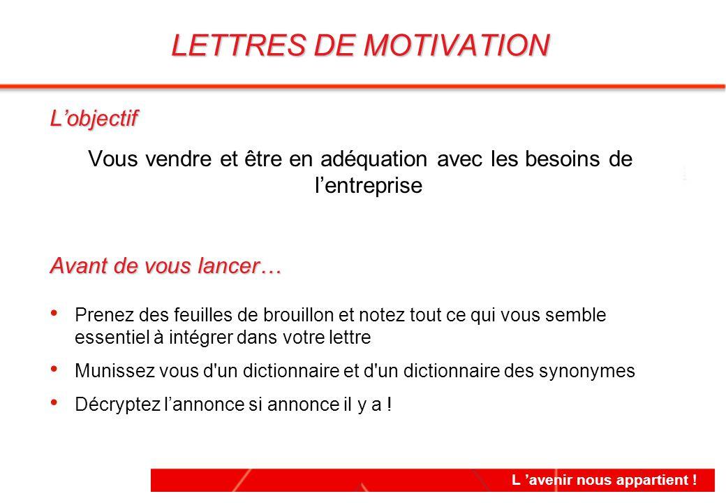 lettre de motivation vendeur comptoir - 28 images