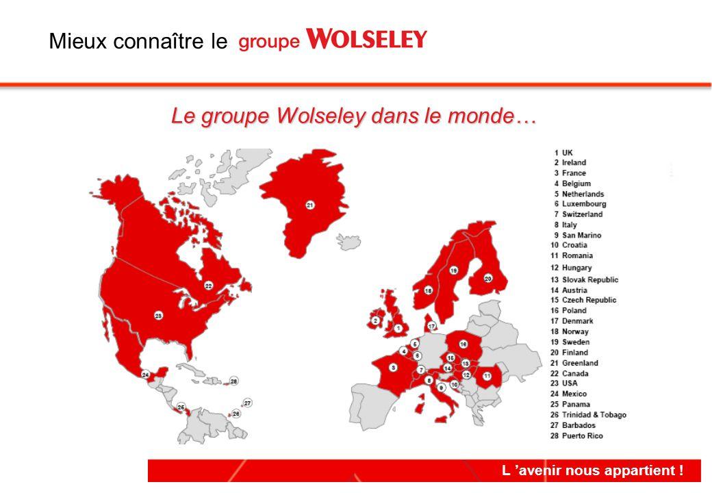 Le groupe Wolseley dans le monde…
