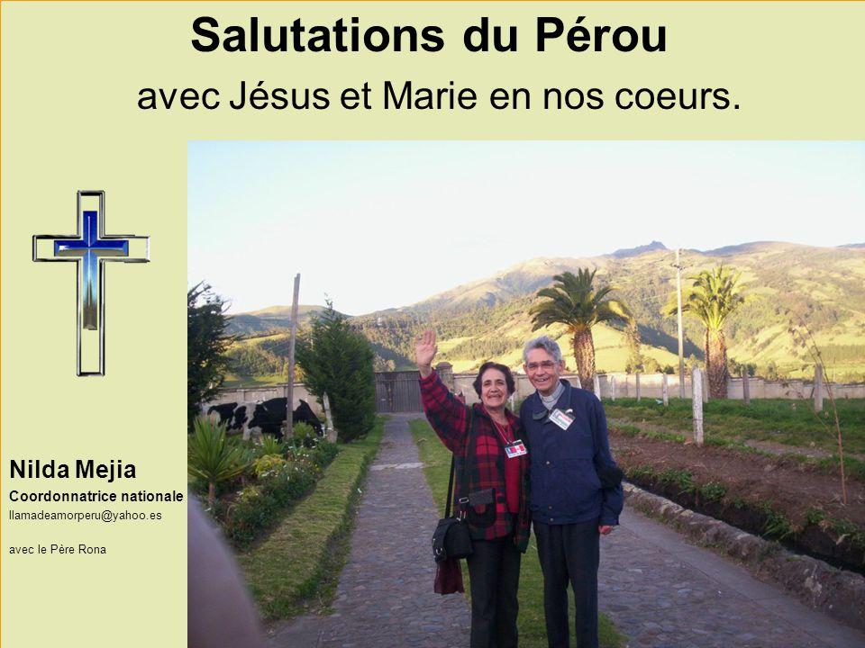 avec Jésus et Marie en nos coeurs.