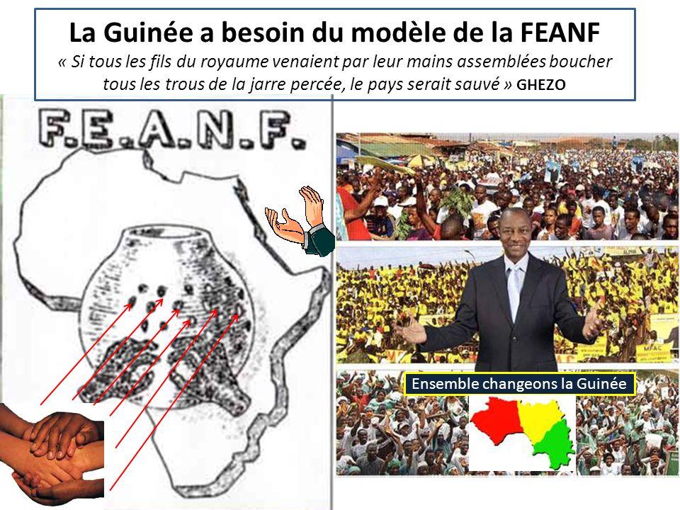 La Guinée a besoin du modèle de la FEANF