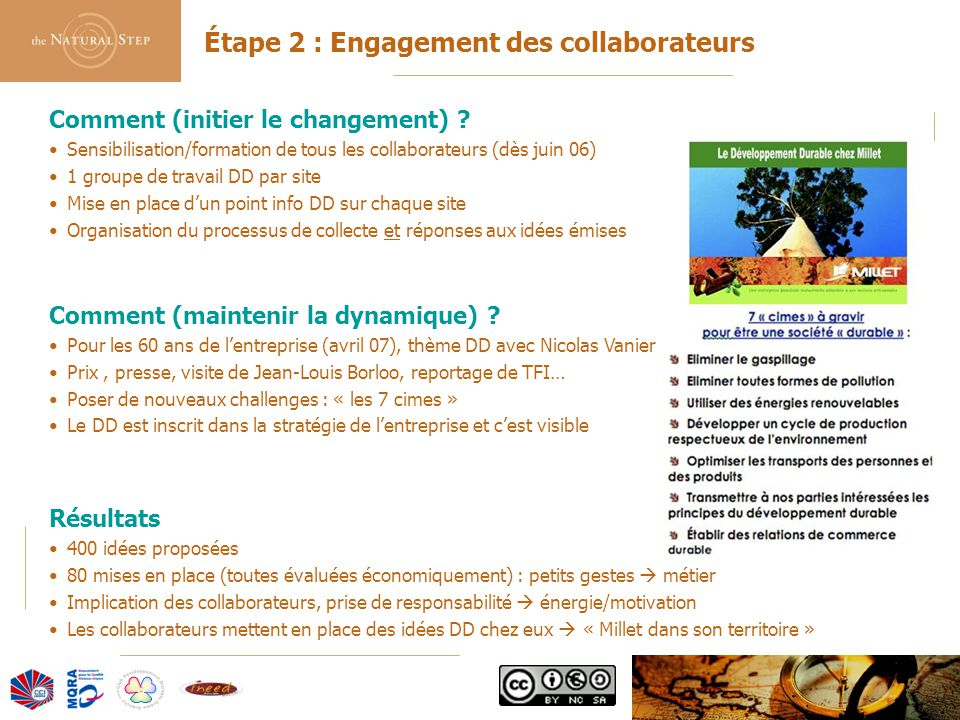 Étape 2 : Engagement des collaborateurs