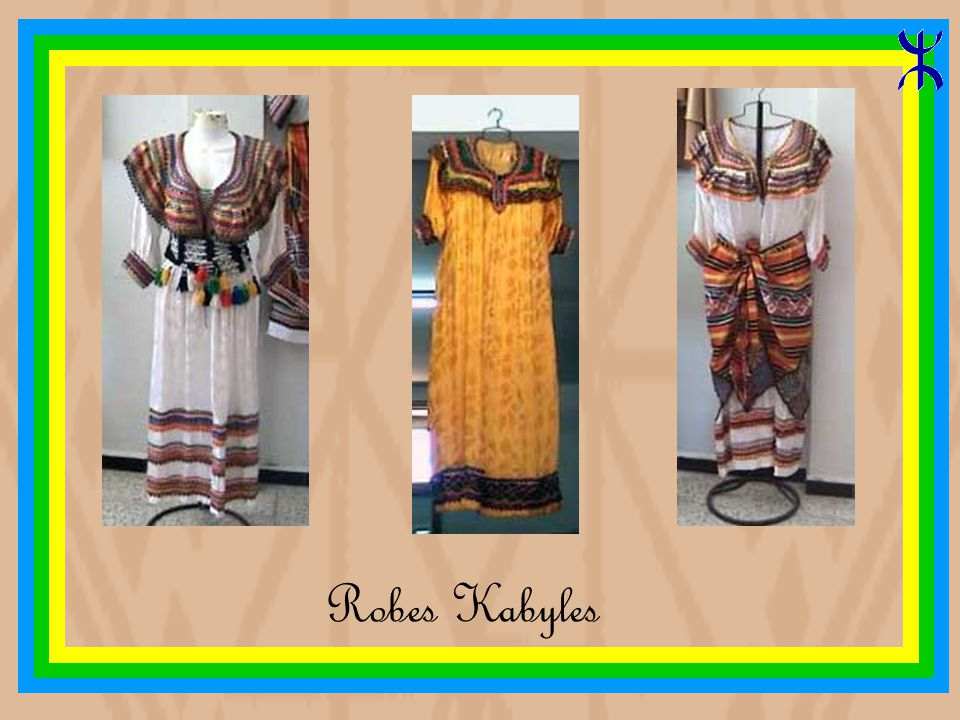 Robes Kabyles