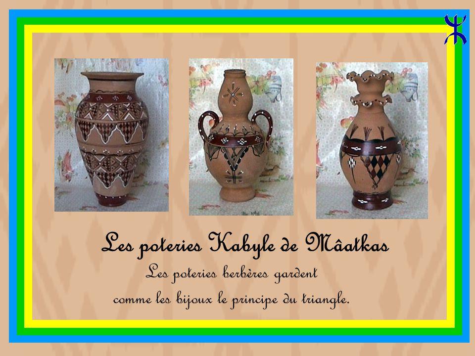Les poteries Kabyle de Mâatkas