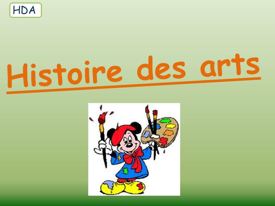 HDA Histoire des arts