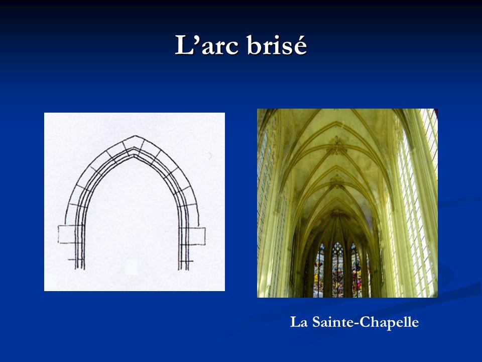 L'arc brisé La Sainte-Chapelle