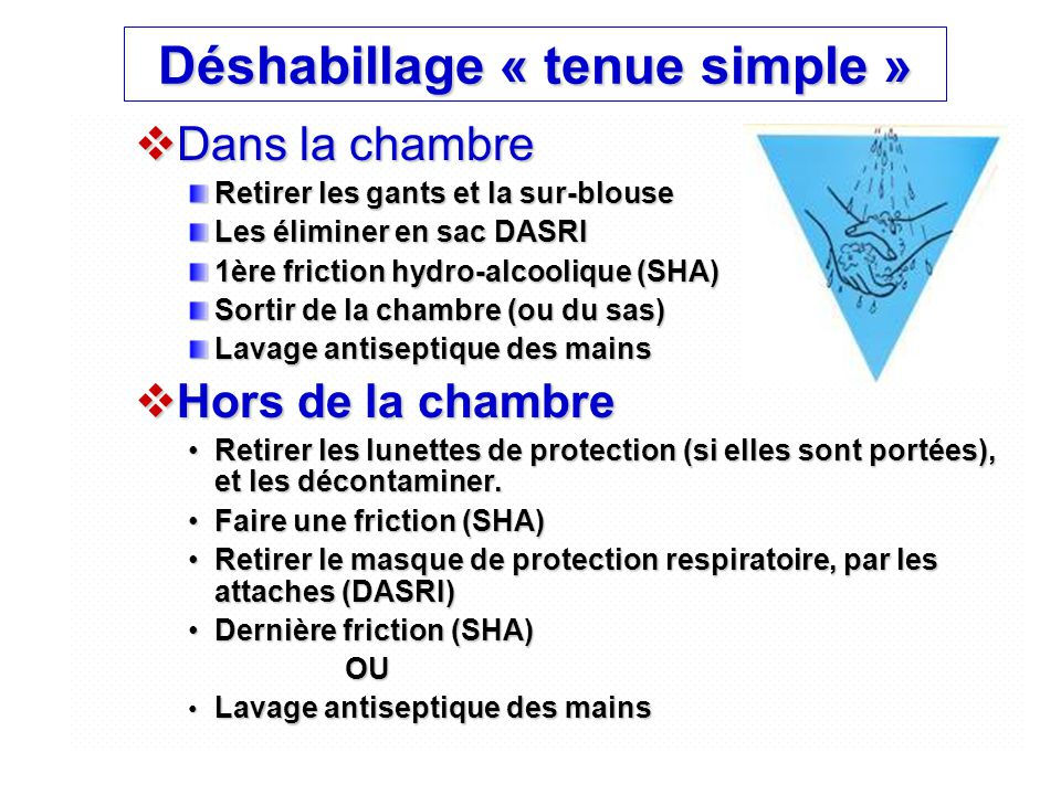 Déshabillage « tenue simple »