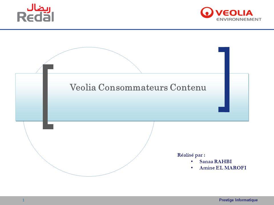 Veolia Consommateurs Contenu