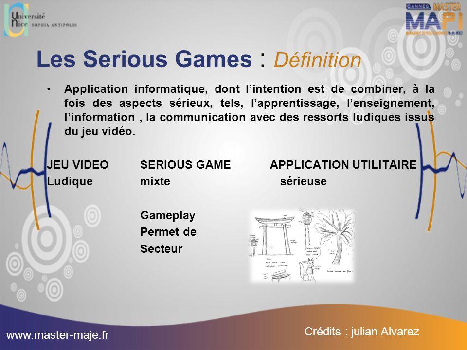 Les Serious Games : Définition