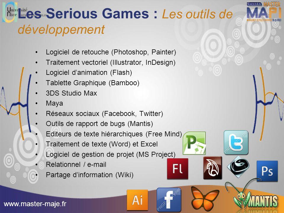 Les Serious Games : Les outils de développement