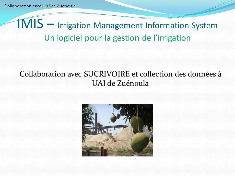 Collaboration avec UAI de Zuenoula