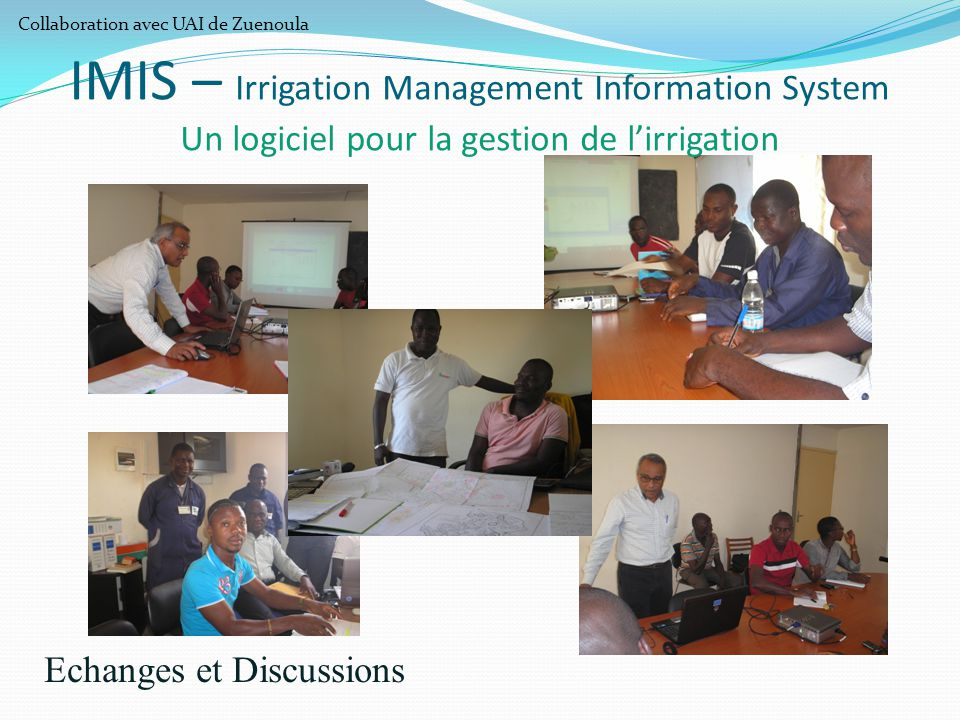 Echanges et Discussions