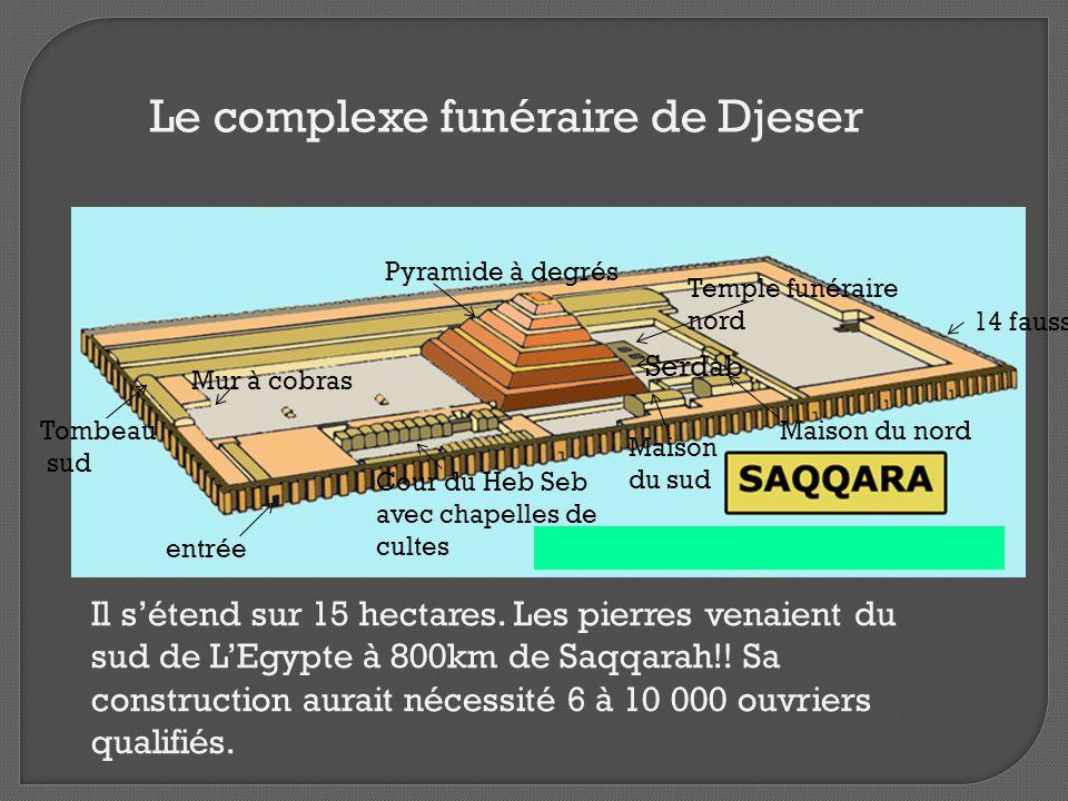 Le complexe funéraire de Djeser