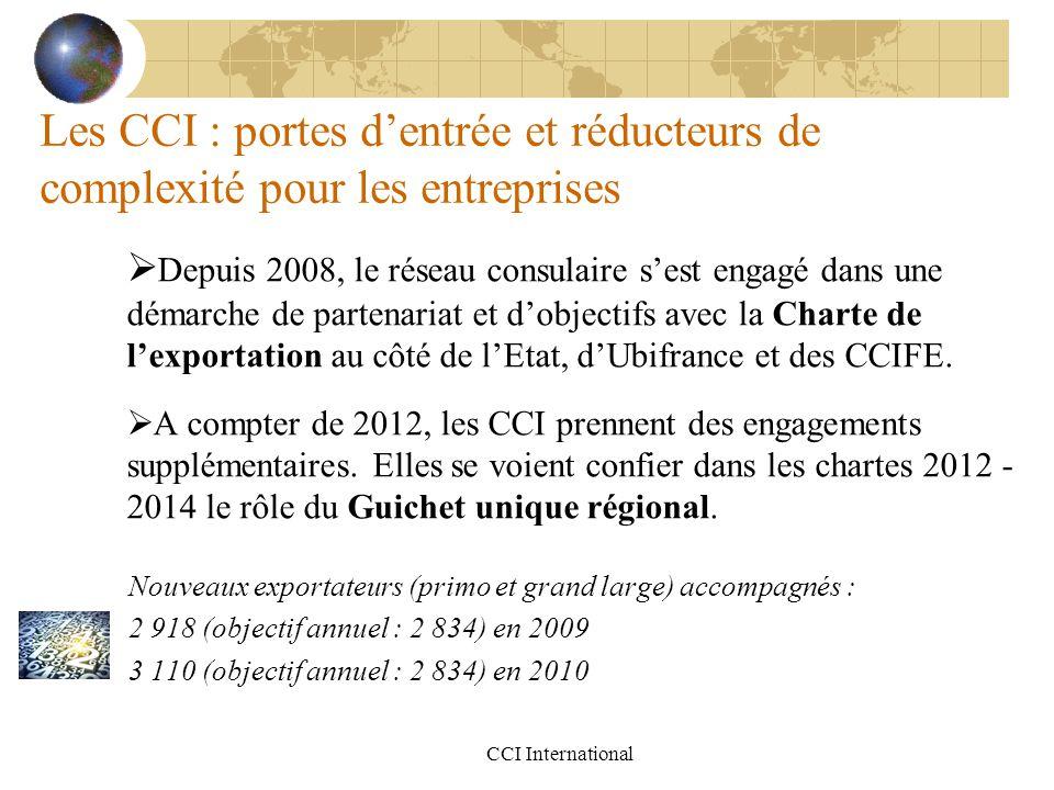 Les CCI : portes d'entrée et réducteurs de complexité pour les entreprises